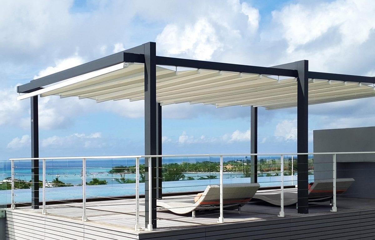 Tende, coperture e pergole per terrazzi