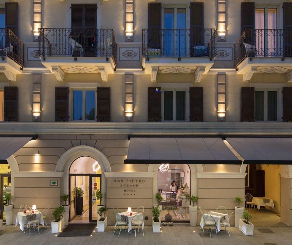 Tende da sole per hotel e alberghi