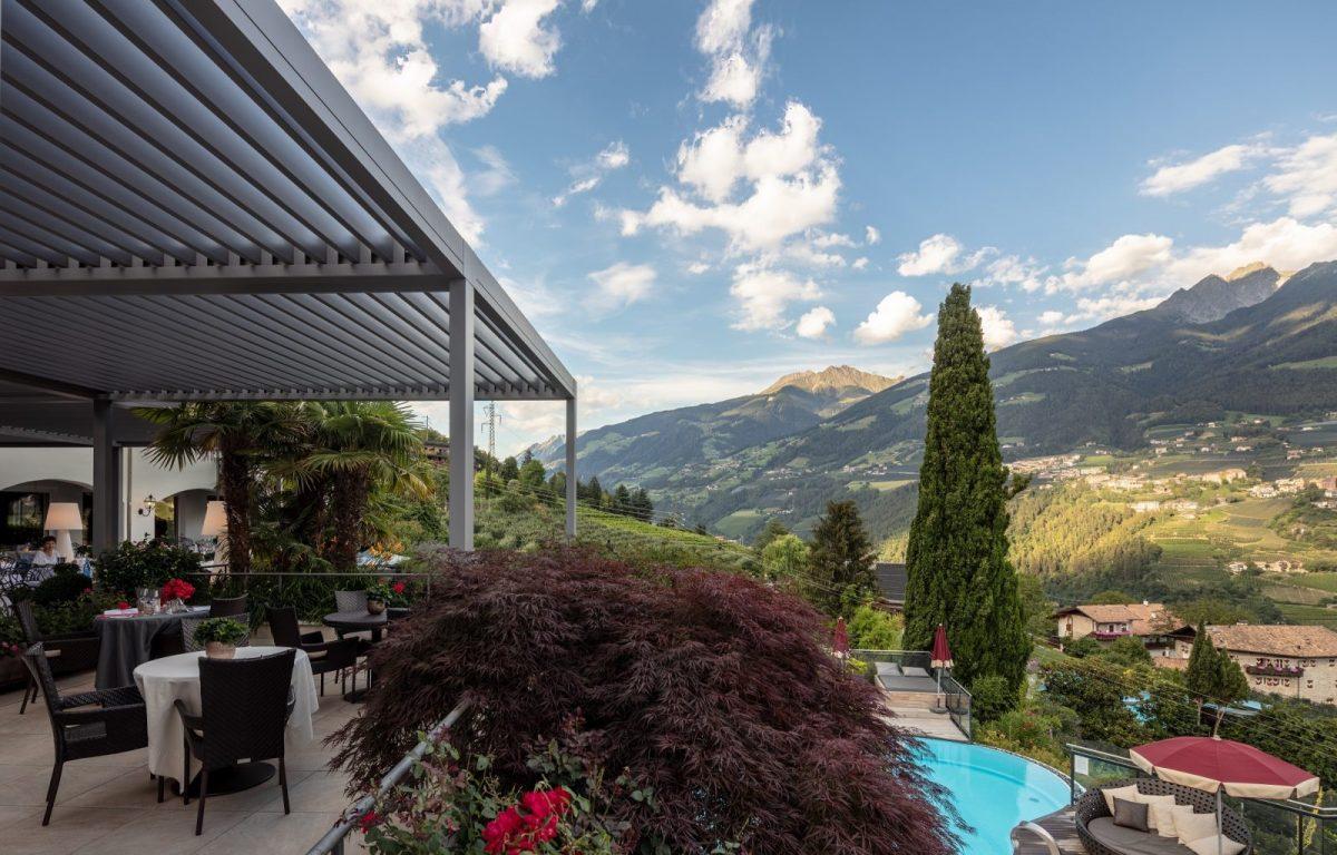 Pergola Pratic realizzazione Contract Bolzano