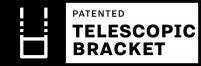 Pratic Brevetto Telescopic Brackets