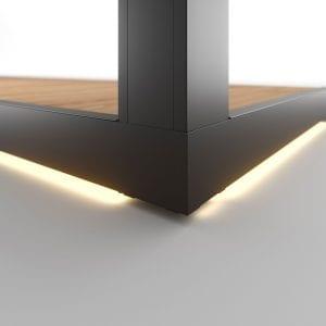 LED sottopedana