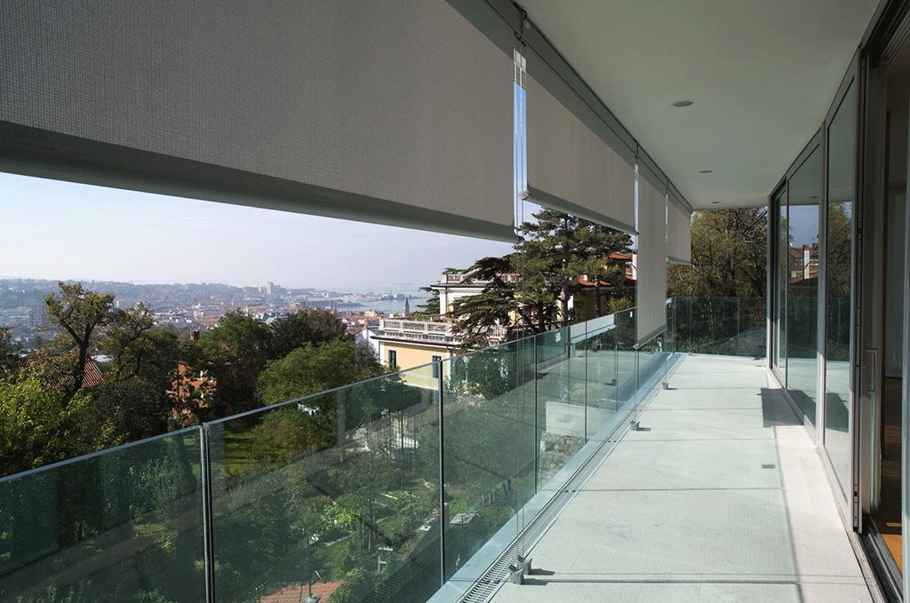 Tende da sole motorizzate per balconi T-Line