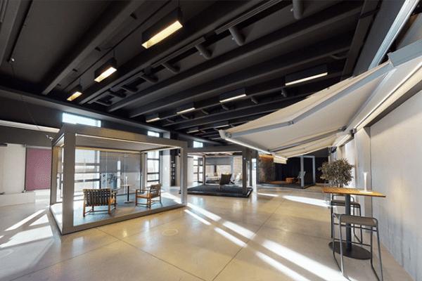 Lo showroom Pratic nel virtual tour
